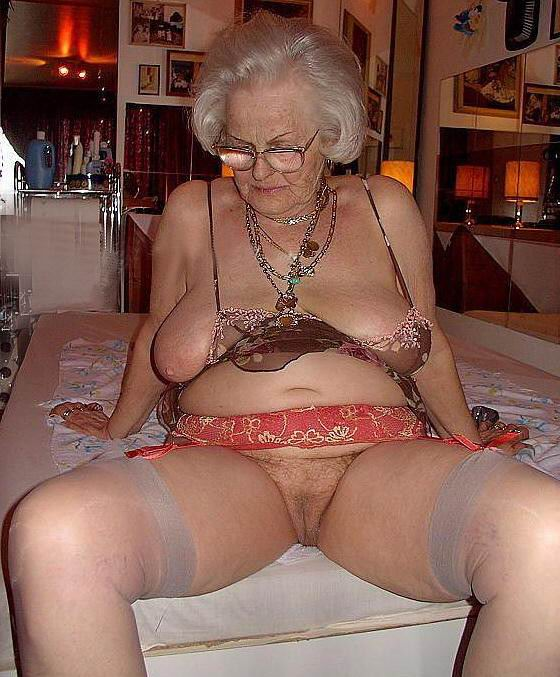 Naked 80 year grannies old